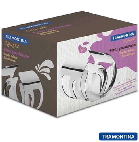 Porta Guardanapos Tramontina Inox, Inox, Inox, 01 Peça, 12 meses