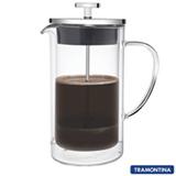 Cafeteira Francesa com Capacidade de 950 ml em Vidro e Inox - Tramontina