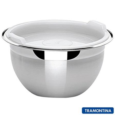 Jogo de Potes Tramontina Cucina em Inox com 03 Pecas - 64220080, Inox, Inox, 3, 12 meses
