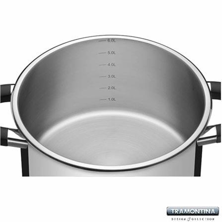 Faqueiro 101 Peças em Aço Inox + Conjunto de Panelas 5 Peças + Panela de Pressão + Panela Wok Ventura, 0