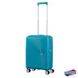 Mala de Viagem American Tourister Curio CR7 40L Azul Turquesa P - AO8064001