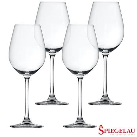 Conjunto de Taças Spiegelau Salute para Vinho Branco com 04 Peças - 4080120186, Não se aplica, Vidro, 04 Peças, 465 ml, 03 meses