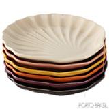 Conjunto de Pratos para Sobremesa Multiuso Acervo Panelinha Especiarias com 06 Peças Coloridas
