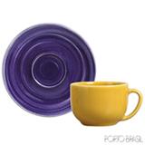 Conjunto de Xícaras Coup Spiral para Chá em Cerâmica 260 ml com 06 Peças - Porto Brasil