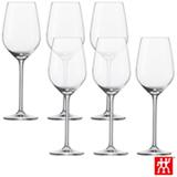 Conjunto de Taças Fortíssimo para Vinho Branco em Cristal com Titânio 404 ml com 06 Peças - Schott Zwiesel
