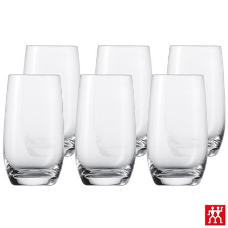 Conjunto de Copos Banquet para Cerveja em Cristal 320 ml com 06 Peças - Schott Zwiesel, Não se aplica, Cristal, 06 Peças, 330 ml, 03 meses