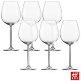 Conjunto de Taças Diva para Água e Vinho Tinto em Cristal com Titânio 613 ml com 06 Peças - Schott Zwiesel