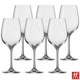 Conjunto de Taças Ivento para Vinho Branco em Cristal 349 ml com 06 Peças - Zwilling