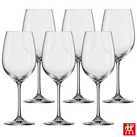 Conjunto de Taças Ivento para Vinho Branco em Cristal 349 ml com 06 Peças - Zwilling, Não se aplica, Cristal, 06 Peças, 349 ml, 03 meses