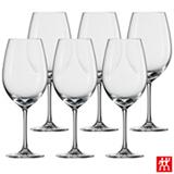 Conjunto de Taças Ivento para Vinho Tinto em Cristal 506 ml com 06 Peças - Schott Zwiesel
