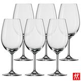 Conjunto de Taças Ivento para Bordeaux em Cristal de Titânio 633 ml - Zwilling
