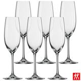 Conjunto de Taças Ivento para Champagne em Cristal 228 ml com 06 ml - Schott Zwiesel