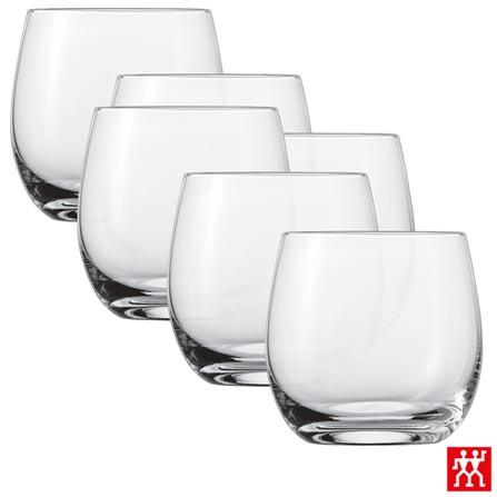 Conjunto de Copos Banquet para Uísque em Cristal 330 ml com 06 Peças - Schott Zwiesel, Não se aplica, Cristal, 06 Peças, 330 ml, 03 meses