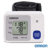 Monitor de Pressão Arterial Omron Digital Automático de Pulso - HEM-6124-BR