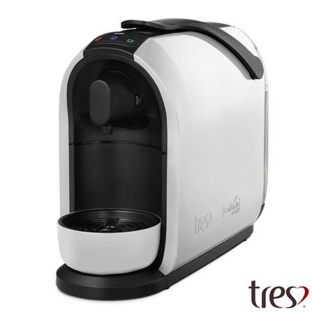 , 110V, 220V, Branco, Espresso automática, Cápsulas