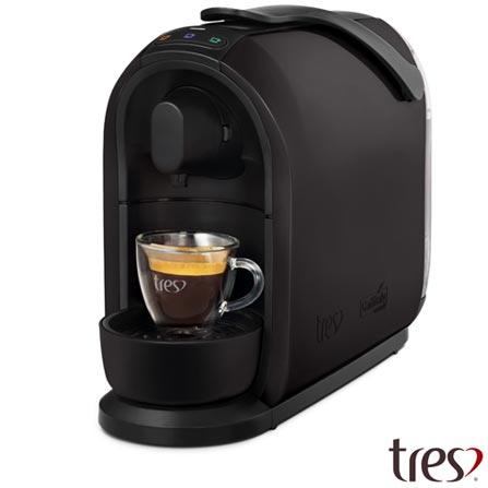 , 110V, 220V, Preto, Espresso automática, Cápsulas