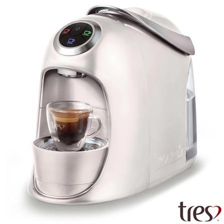 , 110V, 220V, Branco, Espresso automática, Cápsulas, 1,2 Litros, 2 e 15 Bars, Não especificado, Diversos sabores, Não especificado, 1050 W, 12 meses