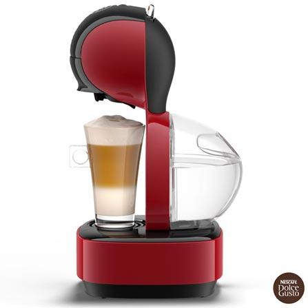 , 110V, 220V, Vermelho e Preto, Espresso automática, Cápsulas, 01 xícara, Diversos sabores, Não especificado, 110 V - 1460 W e 220 V - 1340 W, 12 meses, Sim