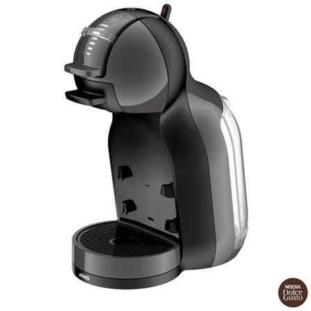 Máquina de Café Expresso Automática Dolce Gusto Arno Mini Me Preta DMM0, 110V, 220V, Espresso automática, Cápsulas, 0,8 Litros, 15 Bars, 01 xícara, Diversos sabores, Metal e Plástico, 110 V - 1460W e 220V - 1340W