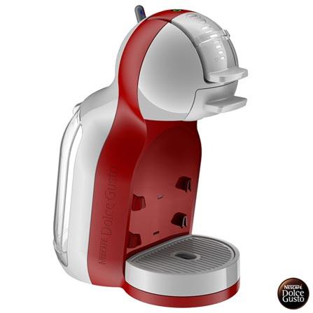 , 110V, 220V, Vermelho, Espresso automática, Cápsulas, 0,8 Litros, 15 Bars, Não especificado, Diversos sabores, Metal e Plástico, 1340 W, 12 meses