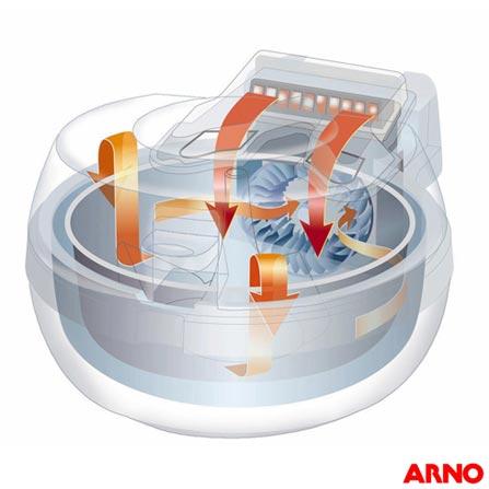 Fritadeira Elétrica Arno Actifry - EFRY+ Livro de Receitas, 110V, 220V, Branco, 12 meses, Não especificado, 150 W