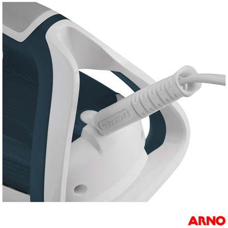 Ferro a Vapor Arno Ultragliss 64 com 03 Níveis  de Temperatura, Auto-Stop e Função Corta Pingos - FU64, 110V, 220V, Verde, Vapor, Sim, Durilium e Plástico, 1200 W, 12 meses