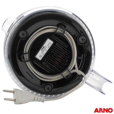 Espremedor de Frutas Citrus Power Arno com 1,2L de Capacidade e Jarra Transparente - PA32, 110V, 220V, Preto, Espremedor, 1,25 Litros, Não se aplica, 70 W, 12 meses