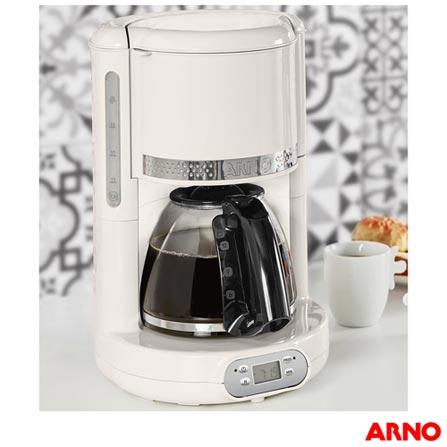 Cafeteira Elétrica Arno Soleil Marfim Branco 220v - Sfcm