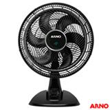 Ventilador de Mesa Arno Ultra Silence Force com 03 Velocidades Preto - VD40