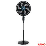 Ventilador de Coluna Arno Silence Force 40 cm com 3 velocidades + Função Repelente Preto - VF5C