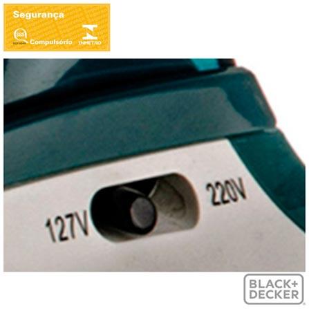 , Bivolt, Bivolt, Branco e Verde, Vapor, Não especificado, Sim, Metais e Plástico, 110V - 1150 W e 220V - 900 W, 12 meses, Não