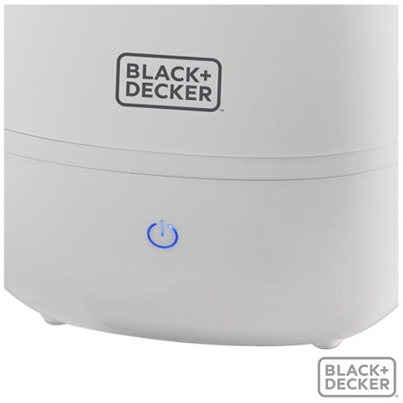Umidificador de Ar Black & Decker com 4 Litros - AIR2000-BR, Bivolt, Bivolt, Branco, 4 Litros, 28 W, 60 Hz, 12 meses