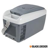 Geladeira Portátil Termoelétrica Black & Decker com Capacidade de 8 Litros Cinza - BDC8L