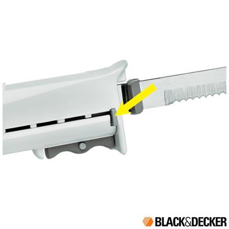Faca Elétrica com Trava de Segurança Black & Decker, 110V, 220V