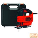 Serra Tico Tico Black & Decker com Potência de 550 W e Ação Pendular - KS701PEK