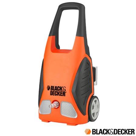 Lavadora de Alta Pressão Black & Decker - PW1150B, 110V, 220V, Laranja, Lavadora de Alta Pressão, 1740 Libras, 1500 W, 12 meses
