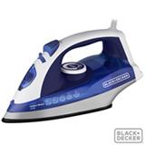 Ferro a Vapor Vertical Black&Decker Antiaderente - Azul e Branco - X5700B