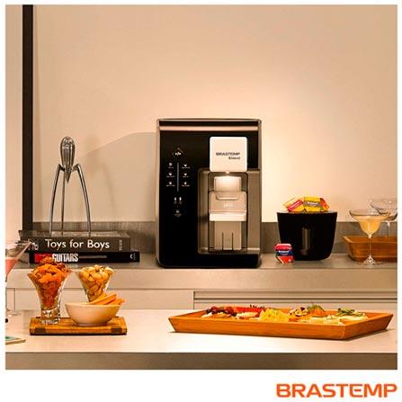 Máquina de Bebidas Brastemp B.blend Preta - BRBPG40AE, 110V, 220V, Preto, Sim, Quente, Fria e Gelada, Mínima - 10º C e Máxima - 32º C, 12 meses