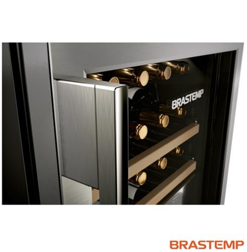, 110V, 220V, Inox, Compressor, 33 Garrafas, Compartimento superior: 05 - 10 ºC e Compartimento inferior: 10 - 18 ºC, Não especificado, 60 Hz, 12 meses