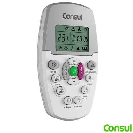 Ar Condicionado Portátil Consul Facilite 12.000BTUs Frio - C1A12AB, 110V, 220V, Portátil, Frio, 12.000 BTUs, 12.000 a 18.500 BTUs, Branco, 1 ano., 7891129221017 / 7891129221024