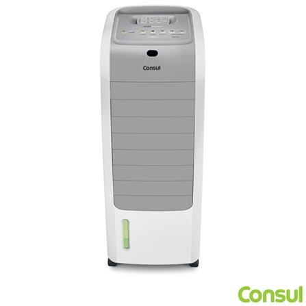 Climatizador de Ar Quente e Frio com Função Umidificar e 03 Níveis de Ventilação C1R07AB - Consul, 110V, 220V, Branco, 12 meses, Quente e Frio, 5,5 Litros, Sim, Sim, 800 W a 1200 W (110 V) e 1300 W a 2000 W (220 V), 60 Hz