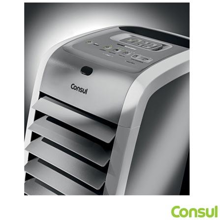 Climatizador de Ar Quente e Frio com Função Umidificar e 03 Níveis de Ventilação C1R07AB - Consul, 110V, 220V, Branco, Quente e Frio, 5,5 Litros, Sim, Sim, 800 W a 1200 W (110 V) e 1300 W a 2000 W (220 V), 60 Hz, 12 meses
