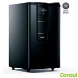 Cervejeira Vertical Consul Smartbeer com Capacidade de 60 Garrafas de 355 ml Frost Free Carbono Preta - CZE12AE