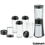 Liquidificador Cuisinart Compacto Preto e Inox com 02 Velocidades, Copo com 950 ml - CPB-300BR