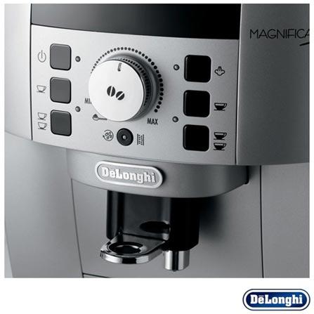 , 110V, 220V, Preto e Prata, Espresso automática, Grãos e Pó, 1,8 Litros, 15 Bars, 02 xícaras, Café espresso, Inox, 1450 W, 24 meses