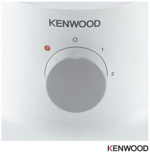 Multiprocessador de Alimentos Kenwood Multipro Compact com 2 Velocidades e Capacidade de 1,2 Litros - FPP238, 110V, 220V, Branco, 02, 1,2 Litros, 750 W, 12 meses