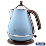 Chaleira Elétrica Icona Vintage De'Longhi com 1,7 Litros de Capacidade Azul - KBOV1501.AZ