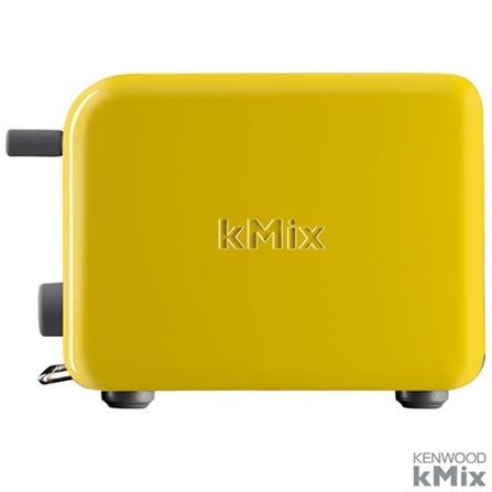 Torradeira com 5 de Níveis de Tostagem kMix Amarela Kenwood - TTM020YW, 110V, Amarelo, 02 Fatias, 1000 W, 12 meses