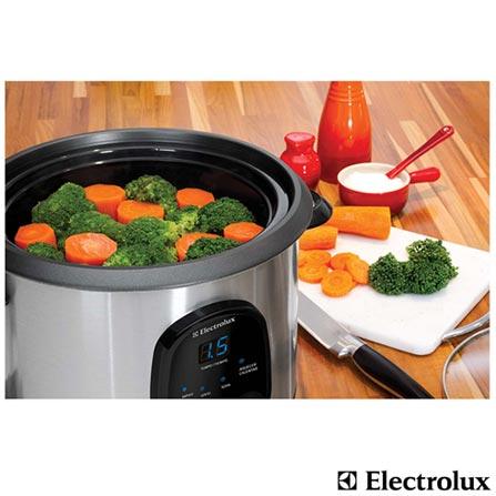 Panela Elétrica Electrolux Cuisine - ECC10, 110V, 220V, Inox, Panela Elétrica, 1,8 Litros, Sim, Sim, Não especificado, 630 W