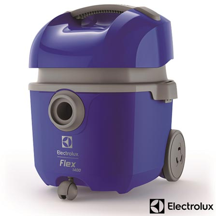 , 110V, 220V, Azul, Pó e Água, 14 Litros de água e 10,6 Litros de pó, Saco para Pó, Sim, 1,80 kW/h, 1400 W, 12 meses